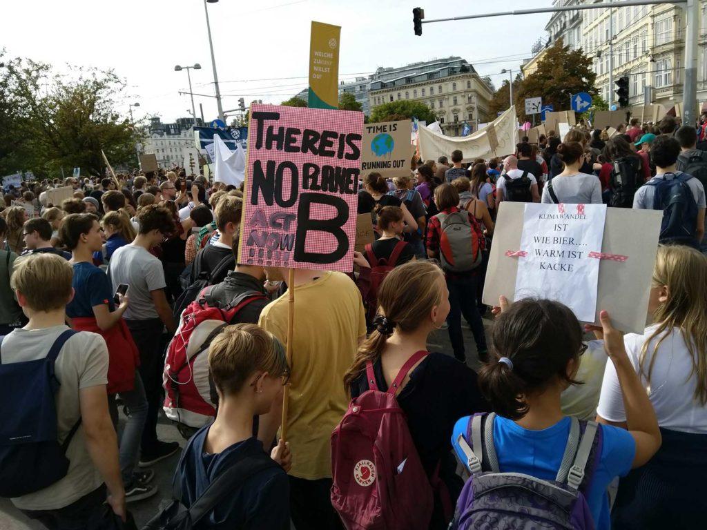 Klimaprotest - jetzt aktiv werden! | Wagenhofer Erneuerbare Energien-Ökostrom | (c) A. Minnich